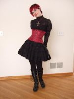 Gothic Lolita 12 by Stocked-N-Loaded