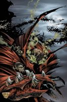 spawn the undead issue 1 by kennethfouche