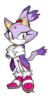 Blaze The Cat SA Style by MamaRocket