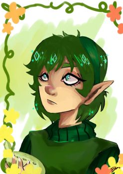 Saria the forest sage by TechDissidence