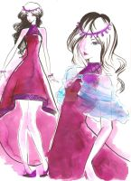 Fashion Design Gown by ilostmyheart