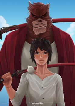 The Boy And The Beast by miqdadhbl