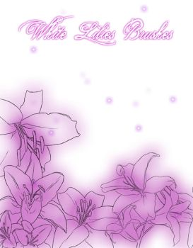 :: Brushes - Lilies :: by Nuxcia