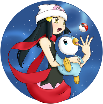 Pokemon - Platinum - Don't give up by Little-White-Boots