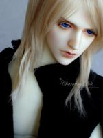 Alastor, the blind Pianist by charmingdoll