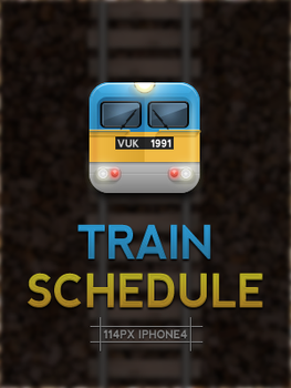 Train Schedule Icon by tonehal