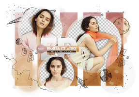 Pack Png 1838 // Emilia Clarke. by ExoticPngs