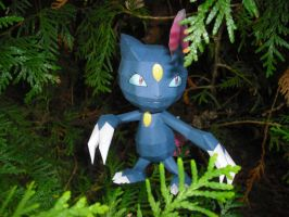 Sneasel papercraft by TimBauer92