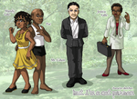 BICP - Characters VI by ErinPtah