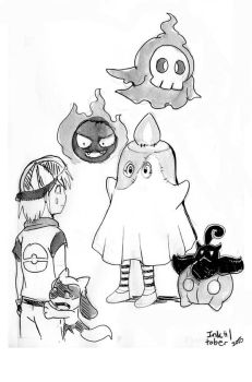 October 01: Ghost by Joichiroll