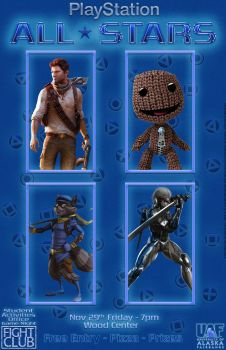 PlayStation All-Stars by Mathematic-Hack