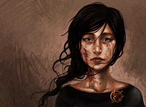 The Hunger Games - Katniss the Mockingjay by curry23