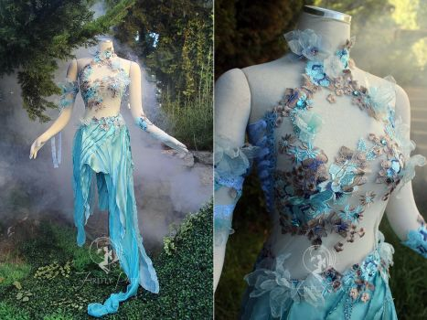 Water Sprite Dress by Firefly-Path