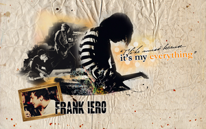 Frank Iero wallpaper 077 by saygreenday