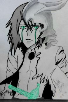 Colored Ulquiorra by Saiden13