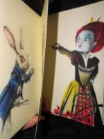Alice in Wonderland on Moleskine by RoxaneLys
