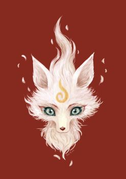 White Fox by freeminds