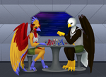 [Commission] - Chess game by AirisKiahin