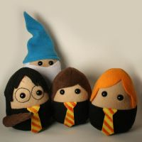 Harry Potter and Pals Plushies by Saint-Angel
