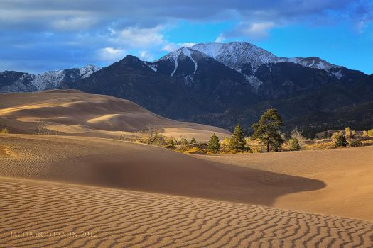 The Great Sand Dunes by Jacob-Routzahn