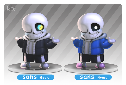 Nendoroid Sans by tabe103