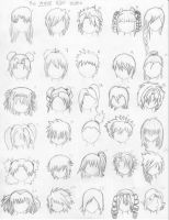 The Anime Hair Index by xxangelsilencex