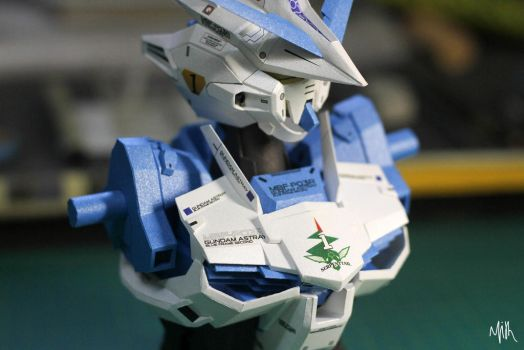 Astray Blue Frame second papercraft ver.ETTE by PatilMITH