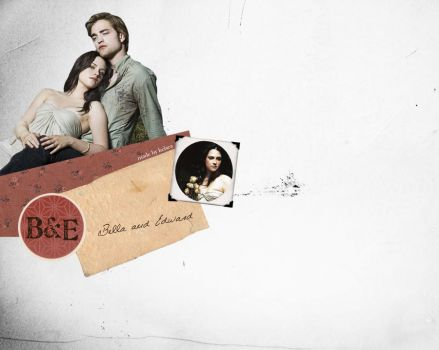 Bella and Edward by puresilverbliss