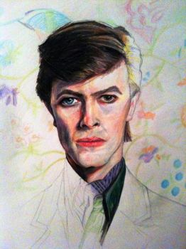 Bowie by DavidDrakeley