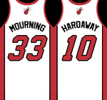 Heat Retired Numbers by FJOJR