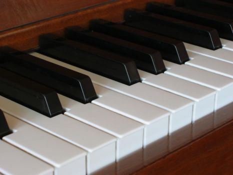 Piano keyboard 2 by incongruent-stock