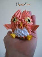 3D Origami - Owl by Jobe3DO