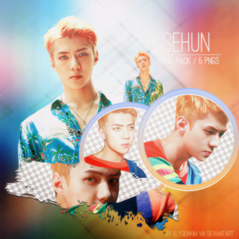 EXO | Sehun PNG Pack | The War by elysionkim