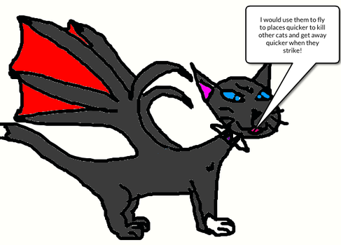 Ask Scourge 2: Wings by dragonluver12366
