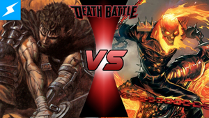 Guts VS Ghost Rider! by PokeSEGA64