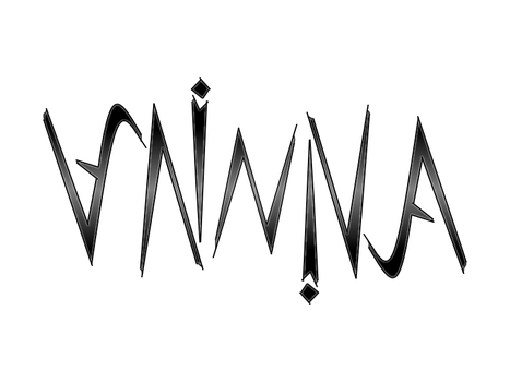 Minna Ambigram by Vodos