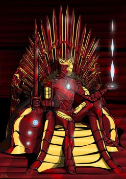 Iron Throne / Iron King by eosvector
