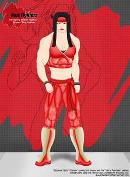 Introducing the Gals Fighters No.12 - Suzy by BlackSandrock10