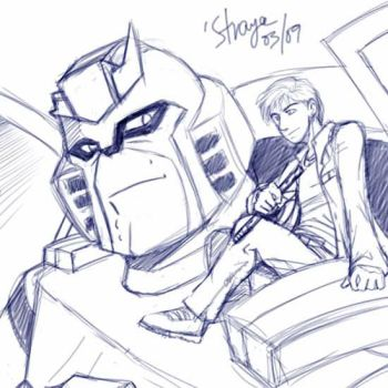 RP - Ratchet and James by straya