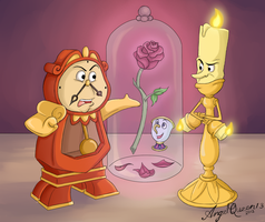 The Cursed Rose by AngelQueen13