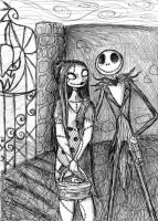 Jack and Sally by GenkiTenshi