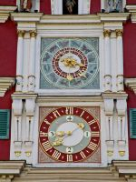 Astronomical clock Esslingen Rathaus by ScraNo
