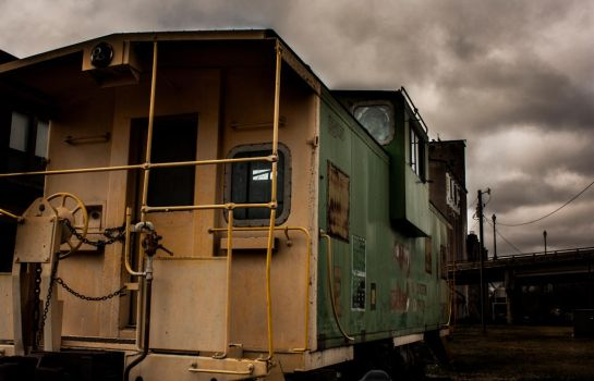 Old Train 2 by SilverAce88