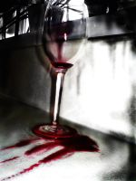 Wine Glass by swineandroses