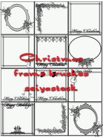 Christmas Frame Brushes by seiyastock