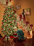 Quatre and Lista Christmas by SapphireGamgee