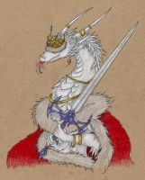 Pfff I'm the queen by Valrunie