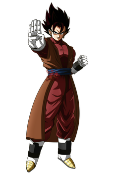 Vegetto Xeno - RENDER - Super Dragon ball Heroes by FradayEsmarkers