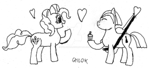 Opus's gift for Pinkie by GyilokHUN