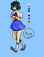 Casual Sailor Mercury by Une-Belle-Tragedie